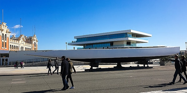 America's Cup hull