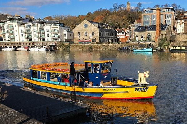 Seen in Bristol harbour