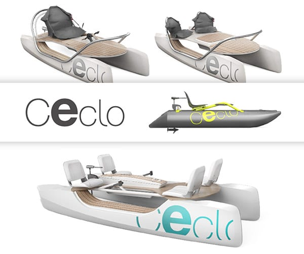 There are various layout options for the Ceclo.
