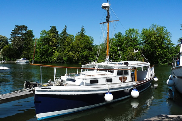 """""""Ferry Nymph"""" - a Dunkirk Little Ship of great character and charm"""