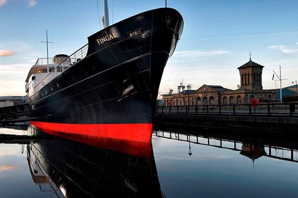 """""""Fingal"""" - A luxury floating hotel in Edinburgh"""