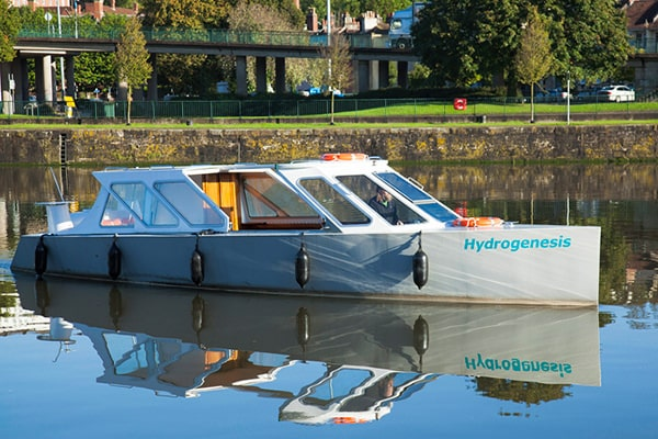 """Hydrogenesis"" - a hydrogen powered ferry operating in Bristol"