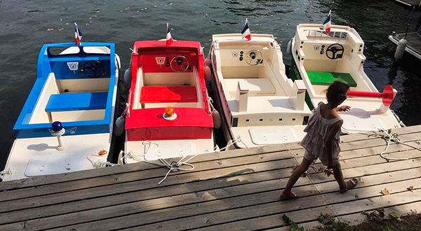 Electric lake boats for kids