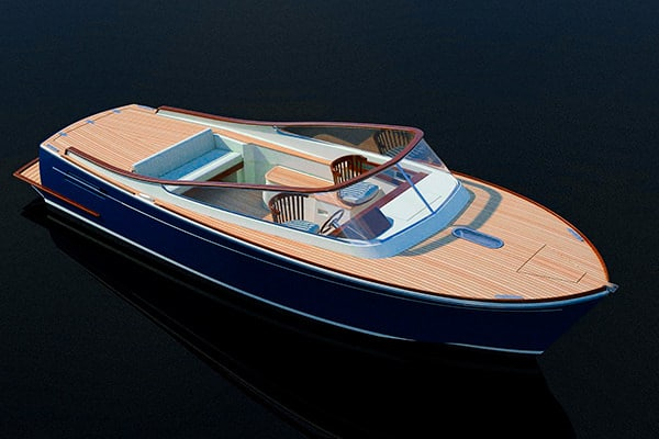 An artist's rendition of Latitude 46's new Lady Jane.