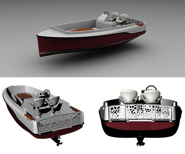 Ruban Bleu's Legend - a wheelchair friendly boat