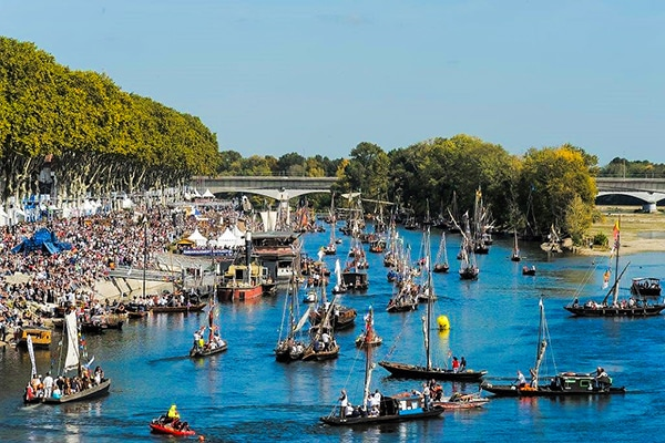 Festival de Loire - a bird's eye view