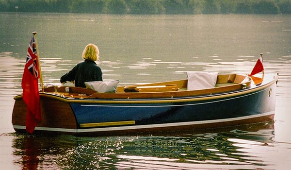 The stylish and elegant Mayfly 16 is perfect for family days out on the river