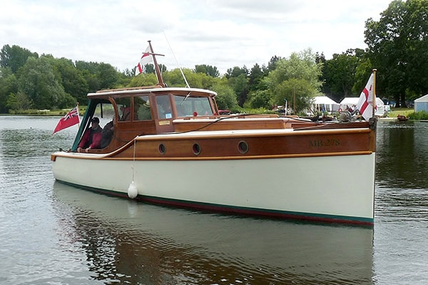 """""""MB278"""" - a carefully maintained historic Dunkirk Little Ship"""