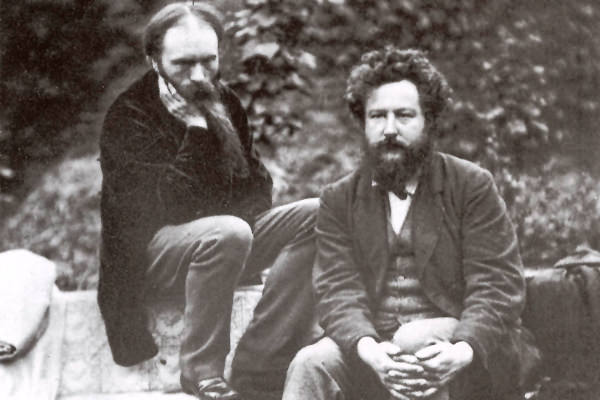 William Morris and Edward Burne-Jones, 1874*