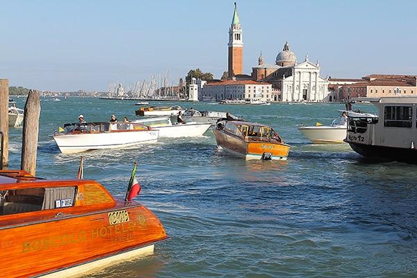 Venetian Motoscafi