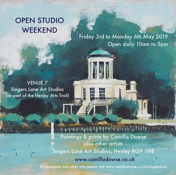open-studio-weekend - flyer