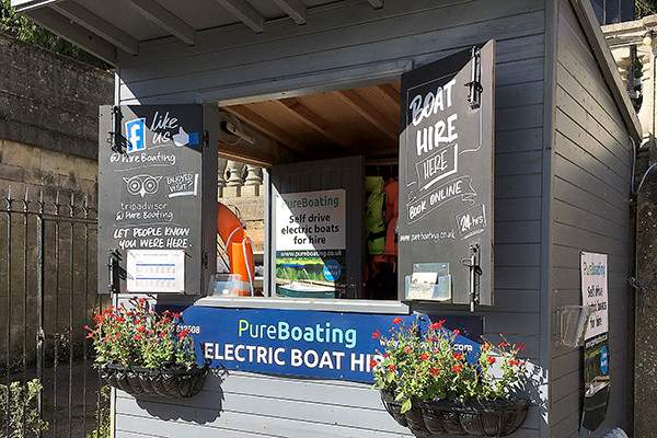 pureboating kiosk in Wallingford