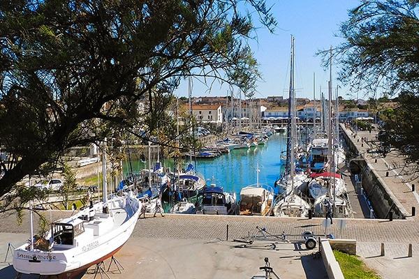 The port of Saint-Martin-de-Ré