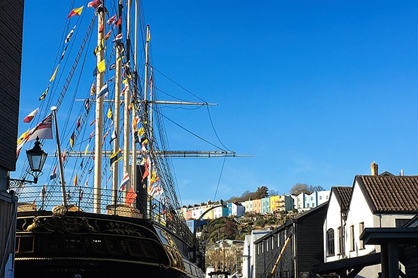 """""""SS Great Britain"""" as seen on my walk"""