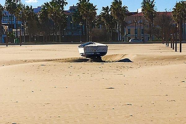 Malvarossa Beach
