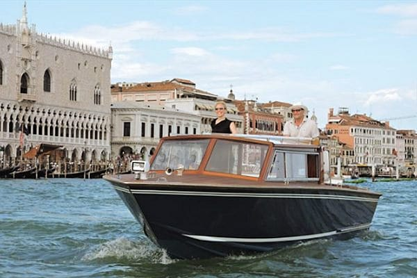 Classic Boats Venice boat hire on the Venetian Lagoon
