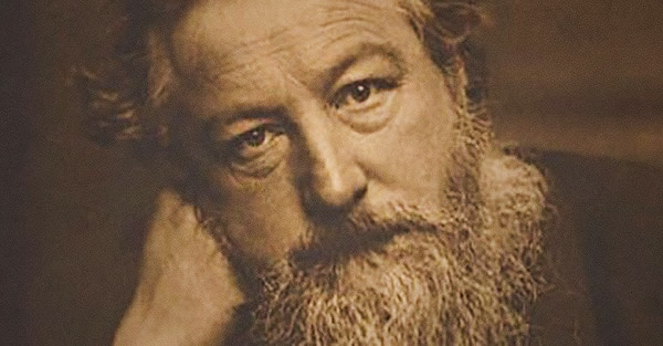 Craftsman, designer, poet, printer, socialist, novelist, and environmentalist: William Morris (1834-1896)