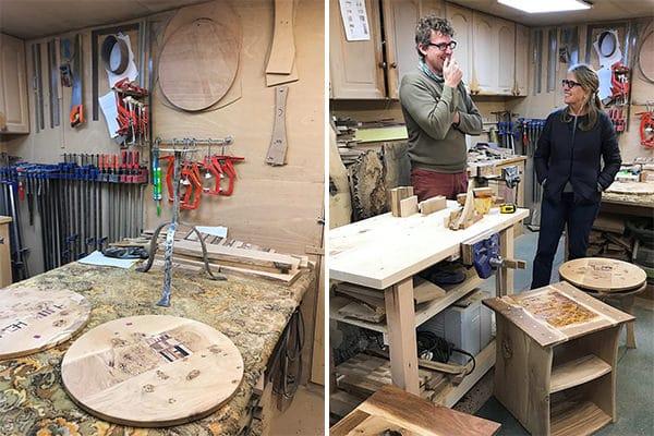 In Tim's Lancashire workshop