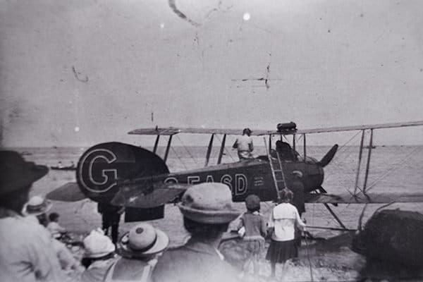"""My Avro, summer 1920 at Shoreham"""