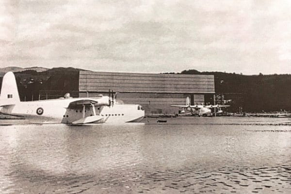 A flying boat on Windermere from the book: Wings on Windermere
