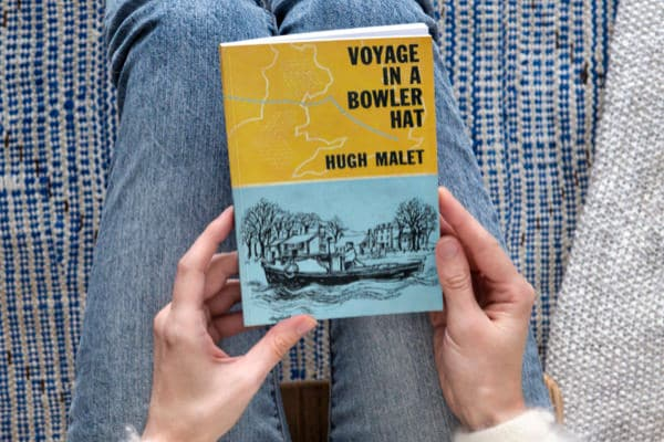 """""""Voyage in a Bowler Hat"""" book cover"""