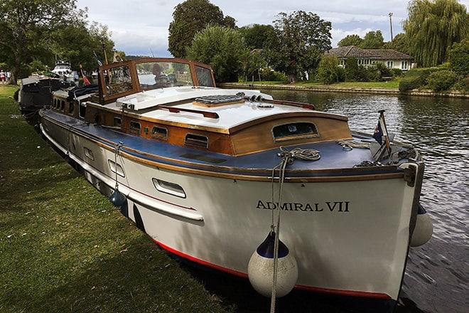 """""""Admiral VII"""" in Henley"""