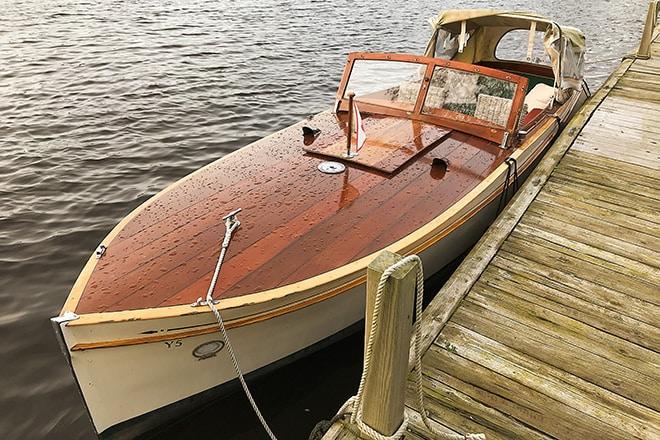 """""""Merlin"""" - A J.W. Brooke Seacar owned by customers/friends."""