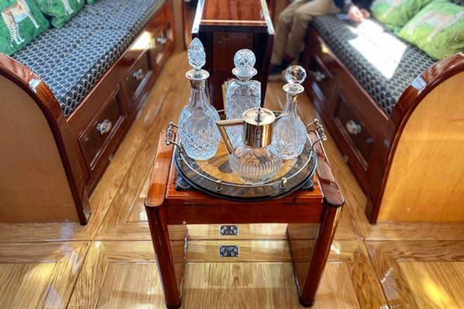 'Breda's' luxurious interior
