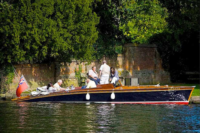 'Lisanne' - a stunning 30ft Andrews slipper stern launch (with optional mooring)