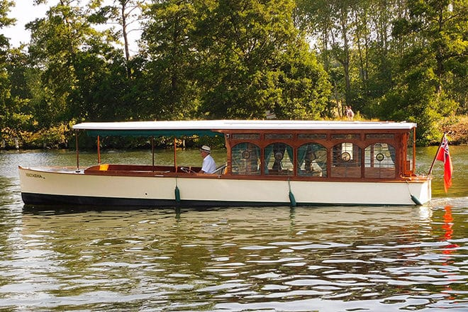 'Natasha' - a very rare and beautiful 'belle epoque' gentleman's launch (with optional mooring)