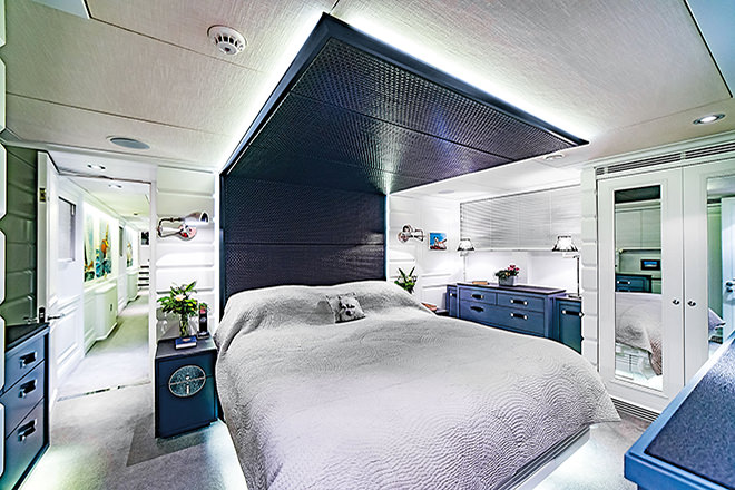 'Savvy's' dreamy master suite