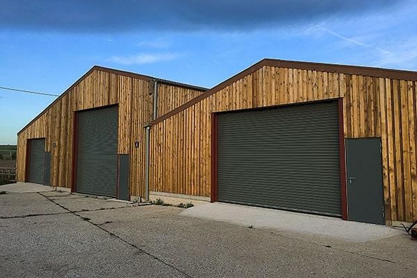 The new Littlestoke Manor Farm storage facility