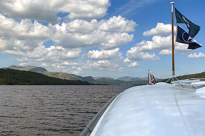 Lake Coniston - our view from 'Gondola'.