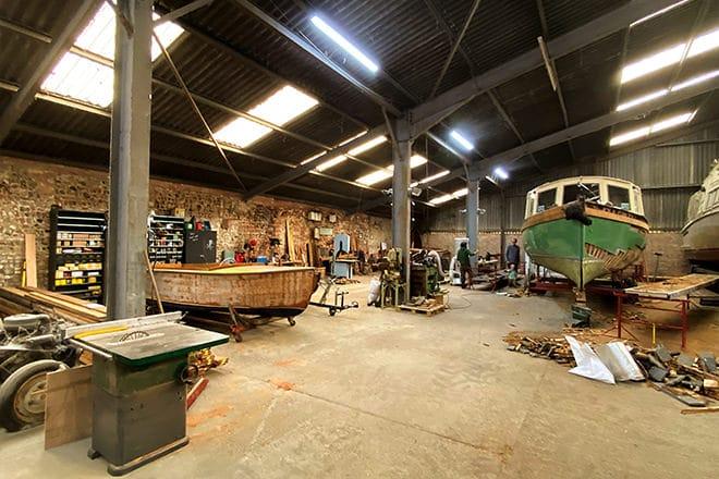 Abbey's new Norfolk yard