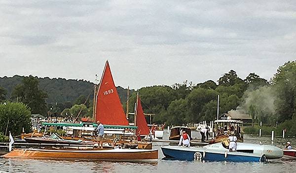 The Thames Traditional Boat Festival 2018 in full swing